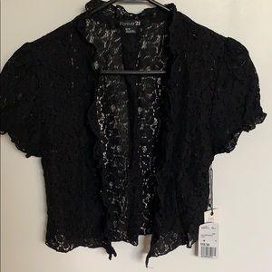 Forever 21 Black cover up jacket